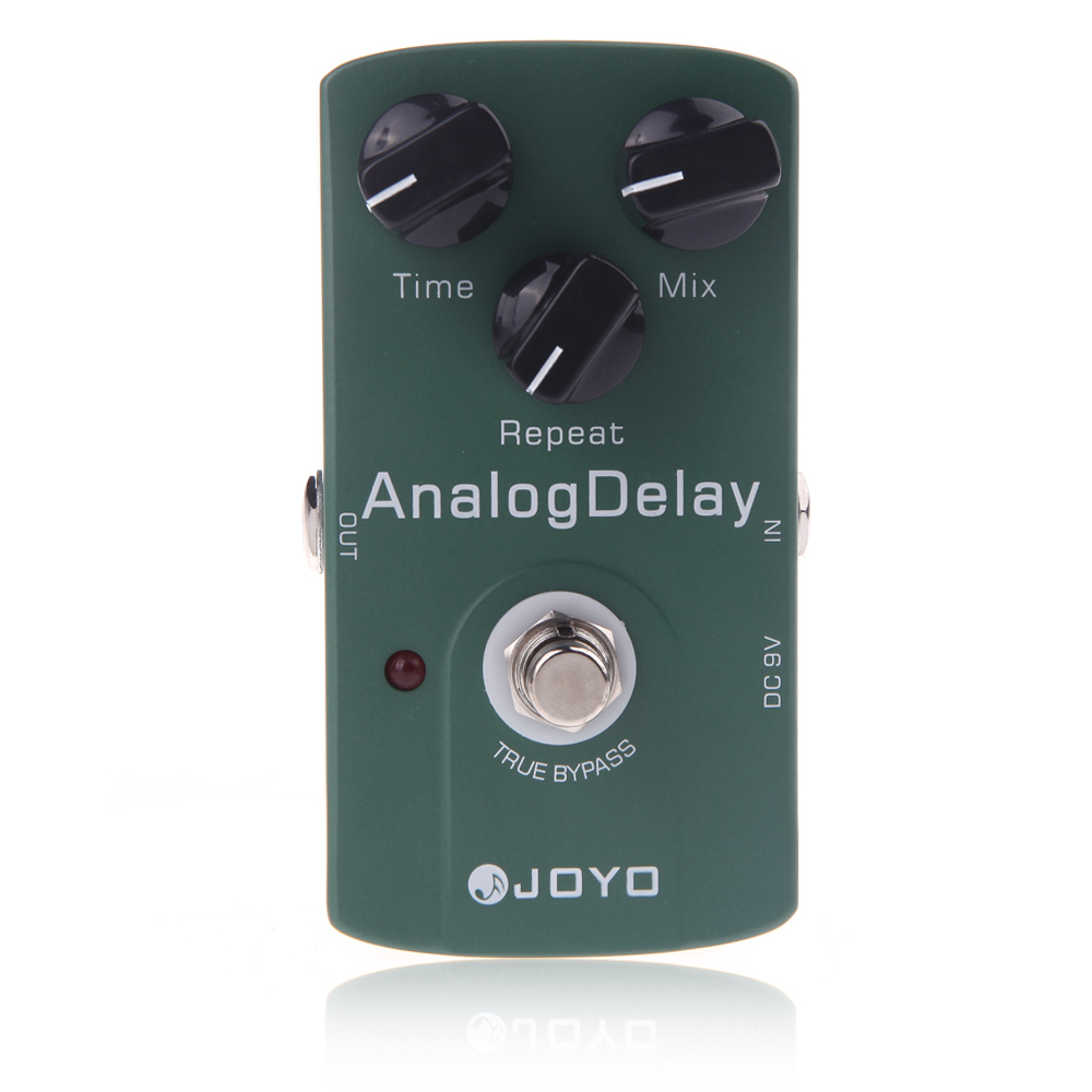 Joyo JF 33 Analog Delay Electric Guitar Effect Pedal True Bypass Guitar Accessories-in Guitar Parts & Accessories from Sports & Entertainment