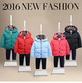 Hot Sale Boys girls Winter Jacket Fashion Kids Hooded Winter Coat Thick Children Down Parkas Outwear For baby Boys Girls clothes