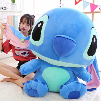 35-80cm Giant Cartoon Stitch Lilo & Stitch Plush Toy Doll Children Stuffed Toy For Baby Birthday Christmas Children Kid Gifts 1