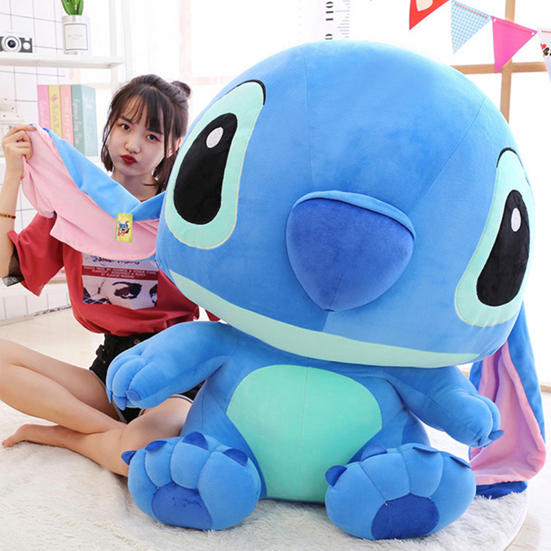 Hot Sale Giant Cartoon Stitch Lilo & Stitch Plush Toy Doll Children Stuffed Cute Toy Baby Birthday Christmas Children Kid Gifts