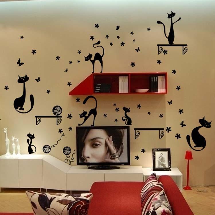 Popular mirror tv cabinet buy cheap mirror tv cabinet lots for Stickers para pared de dormitorio