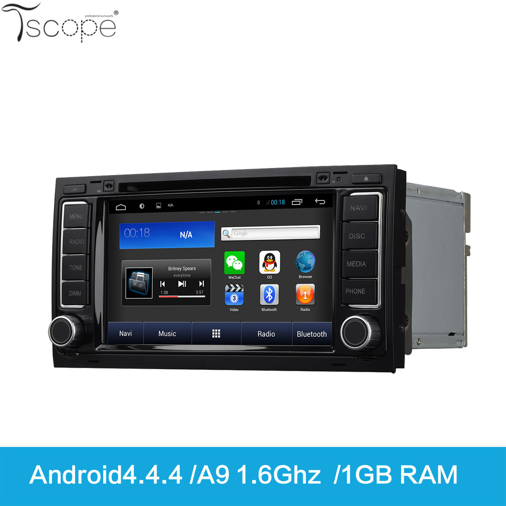 Tscope Android Car 7''Touch Screen DVD GPS Navigation with