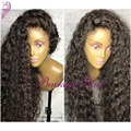 Fashion Long Curly Synthetic Hair Wig Japanese Fiber High Quality Synthetic Lace Front Wig Kinky Curly Synthetic Lace Front Wigs