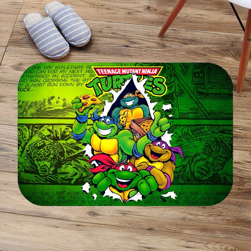 Teenage Mutant Ninja Turtles Floor Mat Anti Slip Kitchen