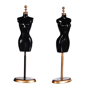 1pc New Fashion Clothes Gown Display Mannequin Model Stand for Doll Holder Dress Form Practical Display Holder Christmas(China)