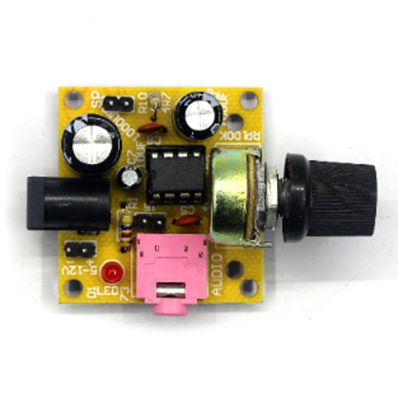 Audio Amplifier DIY Kit Amplifier Electronic Production Suite TDA2822M AMP-1 New