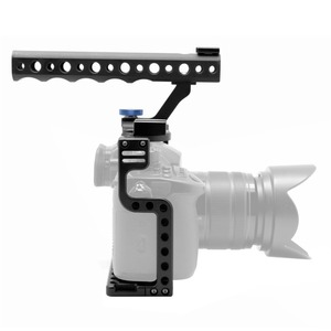 Image 3 - BGNing soporte de Carcasa protectora para cámara, con empuñadura superior para Panasonic Lumix GH5/GH5s, Kit de estudio de foto de cámara