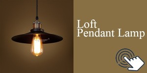 Loft Pendant Lamp