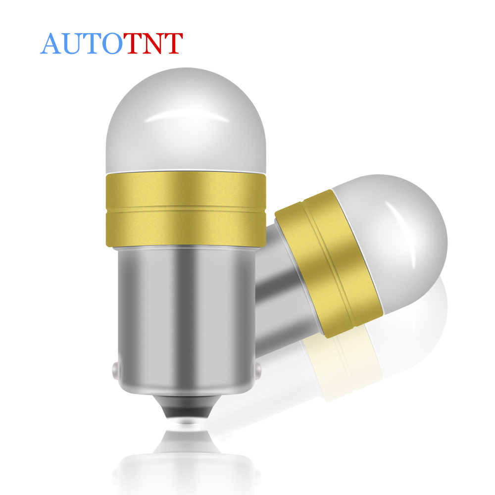2pcs 1156 <font><b>LED</b></font> Canbus No Error BA15S P21W <font><b>LED</b></font> Bulb for <font><b>Skoda</b></font> <font><b>Octavia</b></font> 2 FL A5 2009 <font><b>2010</b></font> 2011 2012 2013 Daytime Running Light image