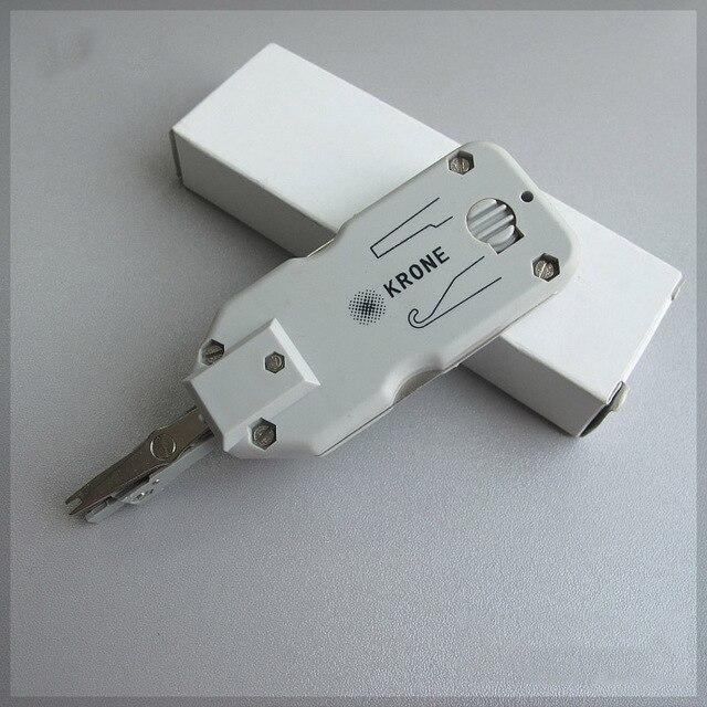Classique Court couronne coupe-fil Réseau câble Téléphone pinces Telecom Portable outil Snap-In couteau pour AMP module 110 Panneau de brassage