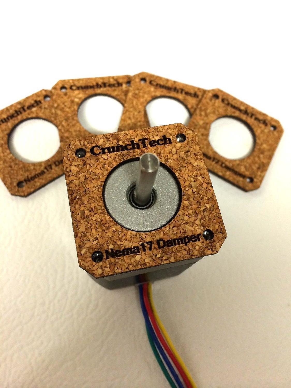 10pcs*Reprap Prusa Mendel i3 3D Printer NEMA 17 Stepper Motor Damper / Isolator Kit