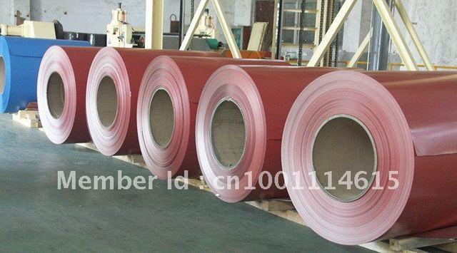 Pe coated and embossed aluminium coil