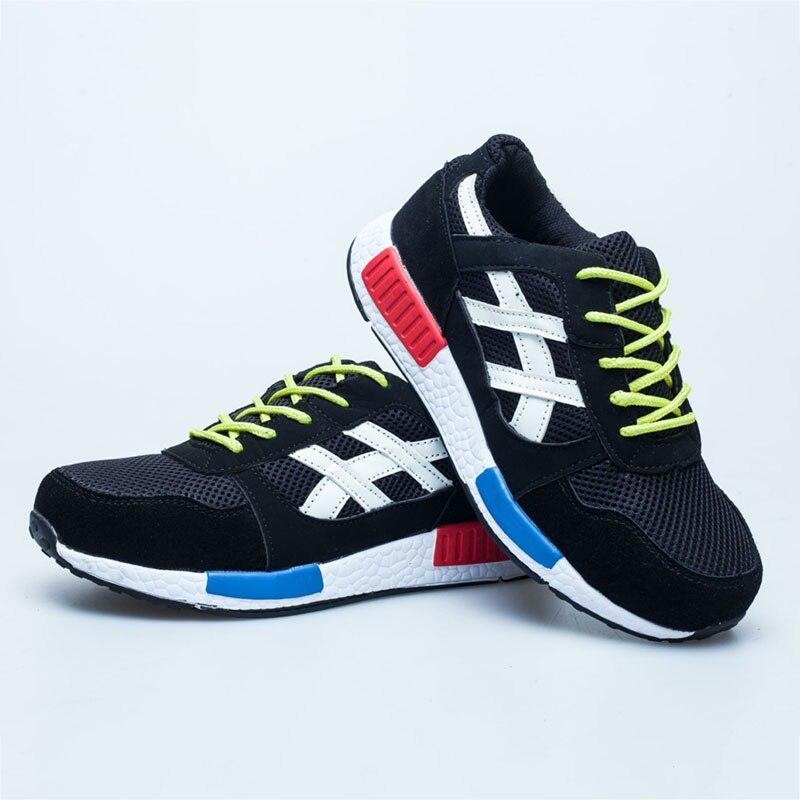 Hommes Chaud Vulcaniser Sécurité Tailles Plus Mâle Masculino Sneakers De bleu Chaussures Noir Automne Tenis rrq1Zgw