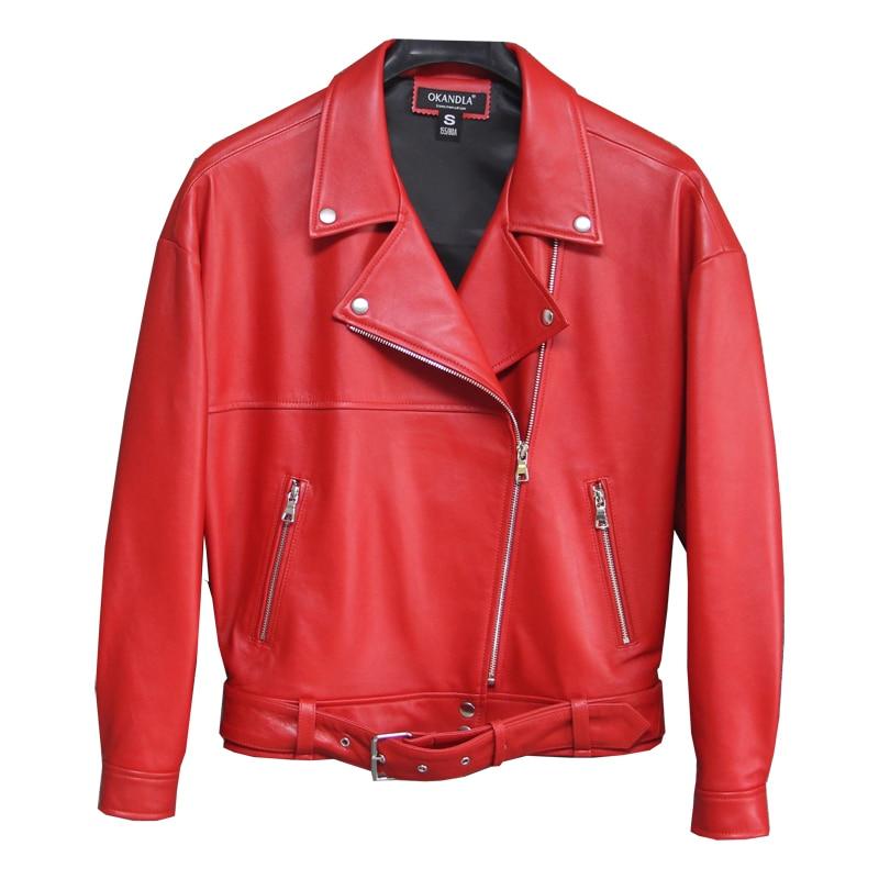 Peau Femme Taille En Mode Qualité Cintrées Gratuite Grande Motorbiker Vestes Manteau Veste Mouton 2019 De Véritable Livraison Cuir 4OInBq