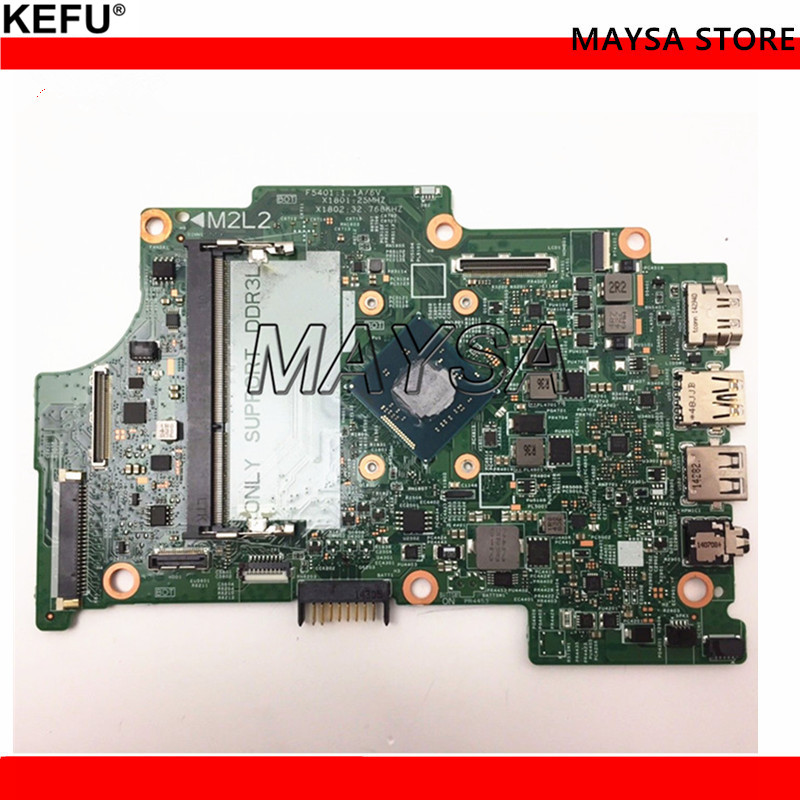 CN-01YRTP 1YRTP Fit For Dell Inspiron 11 3147 Motherboard 13270-1 WFH9R N3530 mainboard NOTEBOOK PC new 0x6p88 motherboard for dell inspiron 15 n5040 notebook mainboard 48 4ip01 011 free shipping