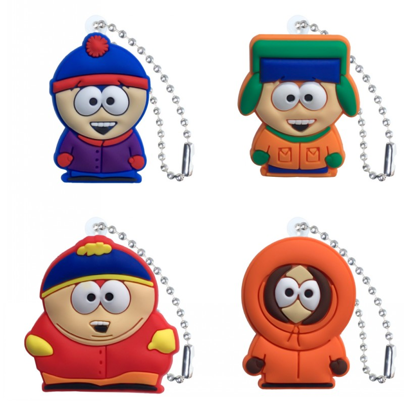 Back To Search Resultstoys & Hobbies South Park Juguetes Led Alarm Clock Colorful Touch Light Southpark Figure Toys For Children