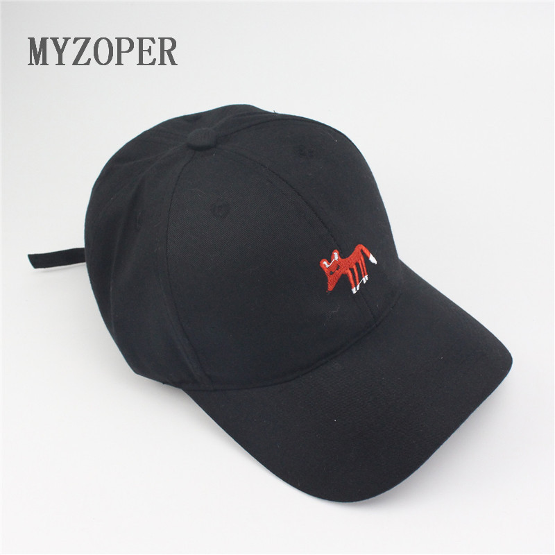 mini fox logos adult unisex casual solid adjustable baseball font caps hats high profile plain low mid hat