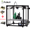 Flsun 3D Printer Large Printing Area 260*260*350mm Touch Screen Double Extruder Aluminium Frame 3 d printer with Heated Bed