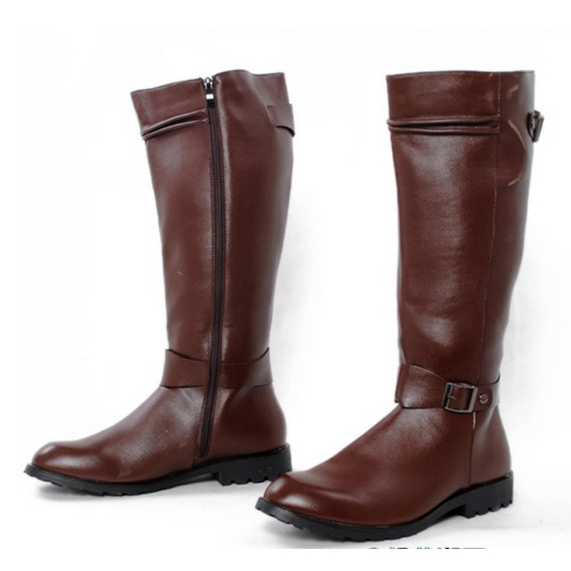 Popular Knee High Mens Boots-Buy Cheap Knee High Mens Boots lots ...