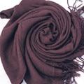 Осень Женская Мода Зима Шарф Tassle Длинные Шаль Украл Пашмины Шарф Фуляр Écharpe 9 цвета Черный Белый Красный