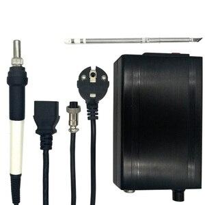 Image 2 - Station de soudage chauffage numérique, fer à souder électronique nouvelle Version STC T12 OLED