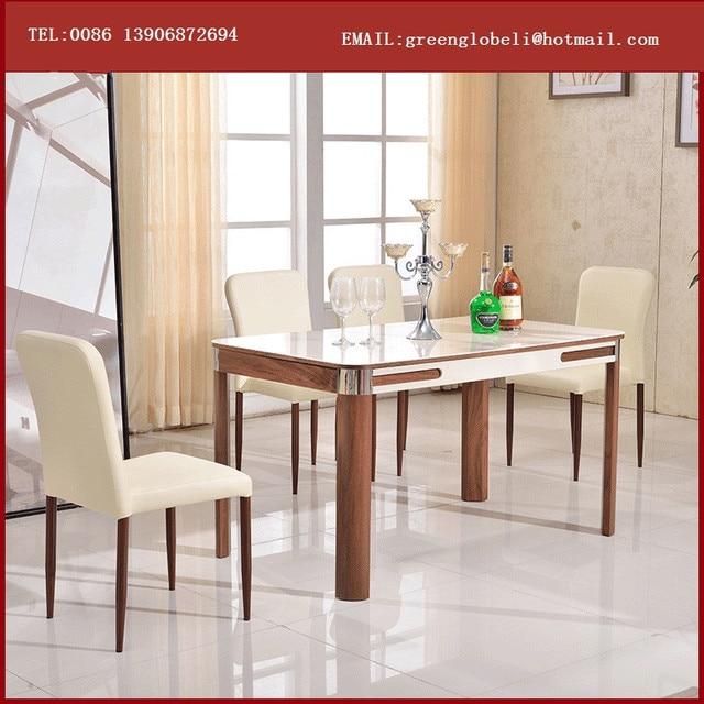 Base de mesa de comedor de madera para mesas de comedor de for Vidrio para mesa de comedor