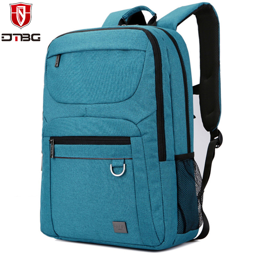 DTBG Computer Backpack Men 15.6 inch Laptop Bag for Apple Macbook Anti-theft Laptop Backpacks Women Nylon Travel School Bags