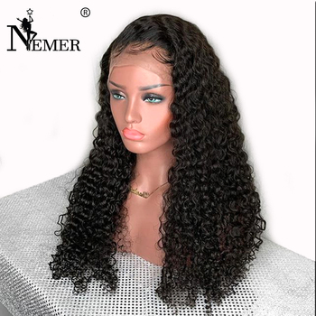 13x6 Lace Front Human Hair Wigs 150% Density Pre-Plucked Natural Hairline Brazilian Remy Hair Wigs With Baby Hair Lace Front Wig 1