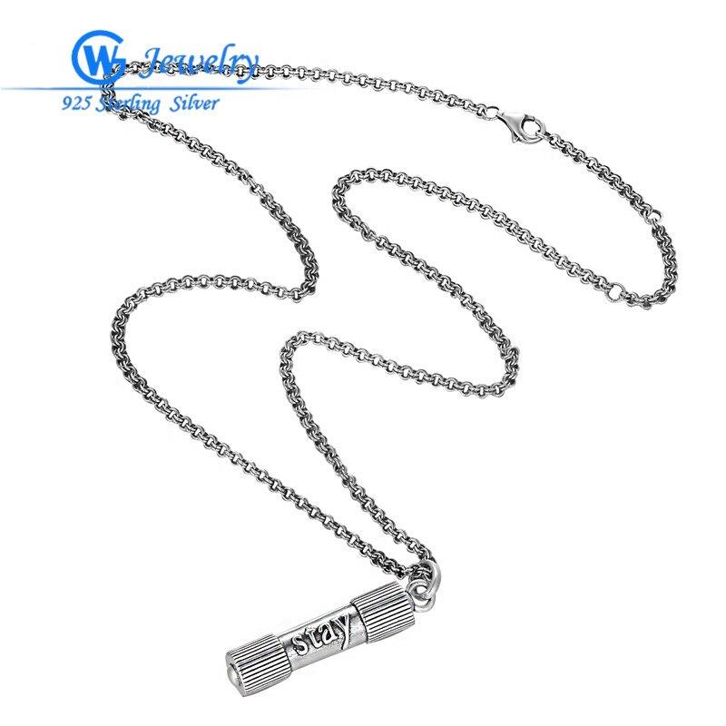 49 CM collier vente ensemble 925 pendentif de sport en argent sterling pour femmes et hommes pendentif collier bijoux GW bijoux de mode XLY013H20
