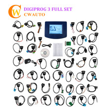 Beste Qualität V4.94 Digiprog3 Multi Sprachen Meilenzahl-programmierer Gesamte Kit Digiprog III Entfernungsmesser-korrektur-werkzeug