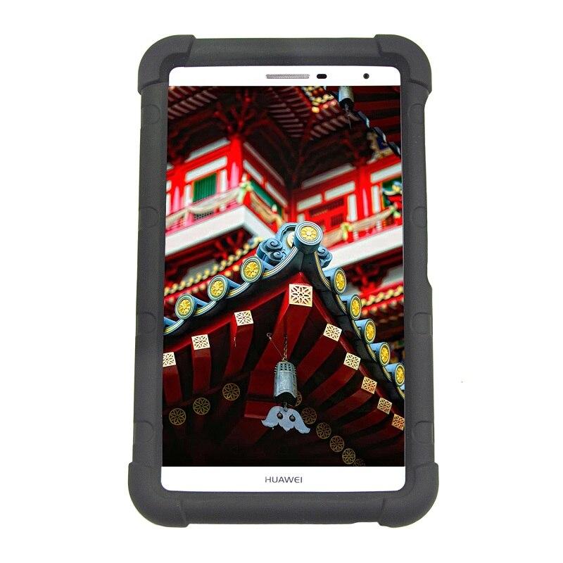 MingShore Pour Huawei MediaPad M2 Lite 7.0 PLE-703L Silicone Couverture Souple Pour Huawei T2 Pro 7.0 PLE-701L Tablet Antichoc Cas