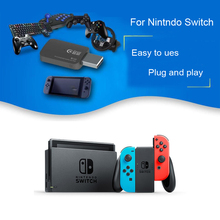2017 New Nintend Switch Switch Adapter Controller Handle Gamepad Joystick With OTG Support PS3 PS4 Xbox 360 Xbox one slim