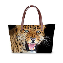 Handbag for Women 2019 New Fashion Bags Shoulder Bag Beach Animal Tiger Print Pattern Design Tote Bolso