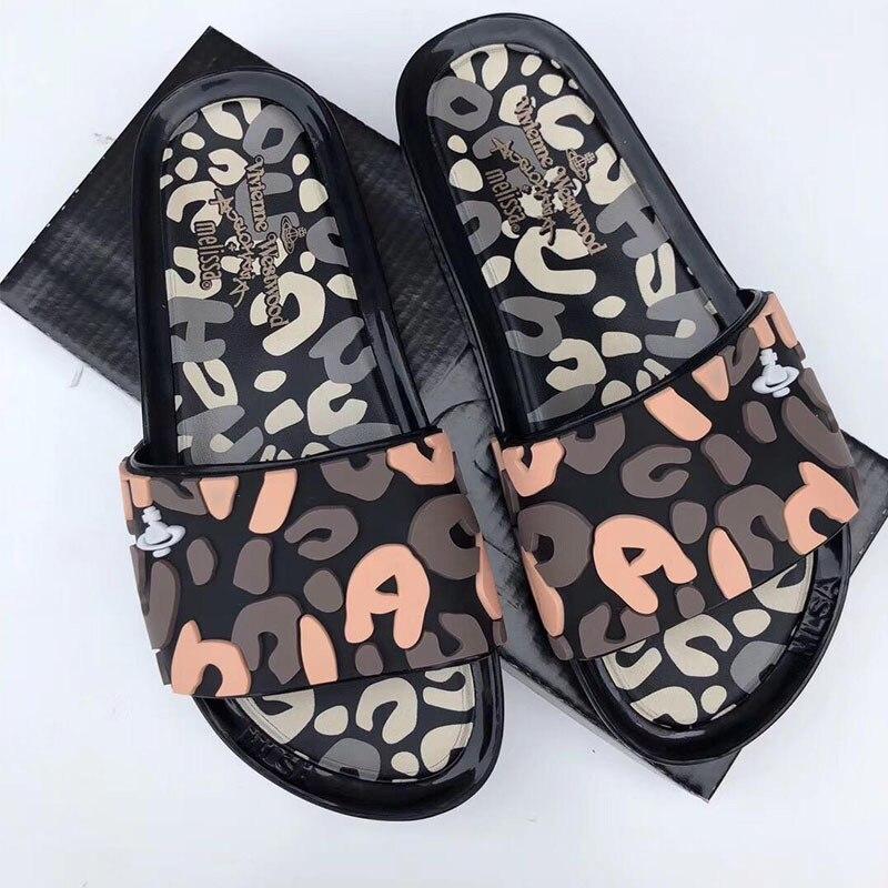 Chaussons pour femmes 2019 chaussures diapositives mode troupeau ...