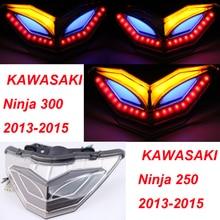 !!! Специальная Конструкция по всему миру-фонарь встроенными Сигналами Поворота для KAWASAKI NINJA 300R EX300 2015