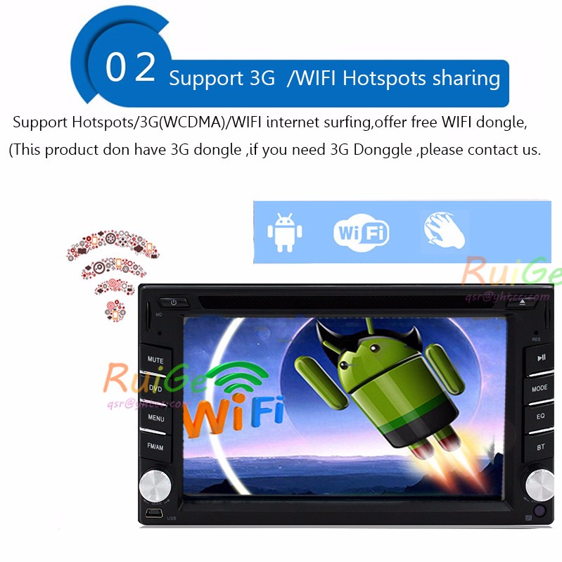 Discount 2din car stereo 8.01android audio head unit radio GPS navigation for Nissan Qashqai Kia Ceed Honda Civic suzuki swift MP3 player 5