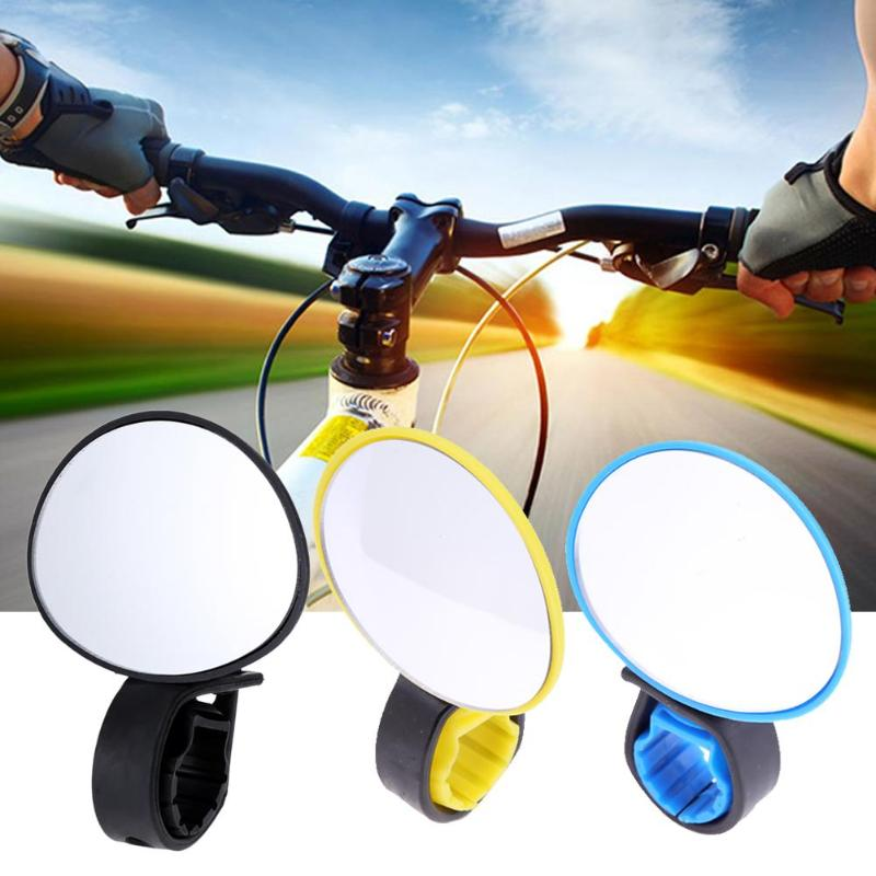 3 Colors Universal Adjustable 360 Degree Rotate Cycling Bike Handlebar Rear View Mirror Bicycle Safe Rearview Mirror Bicicleta
