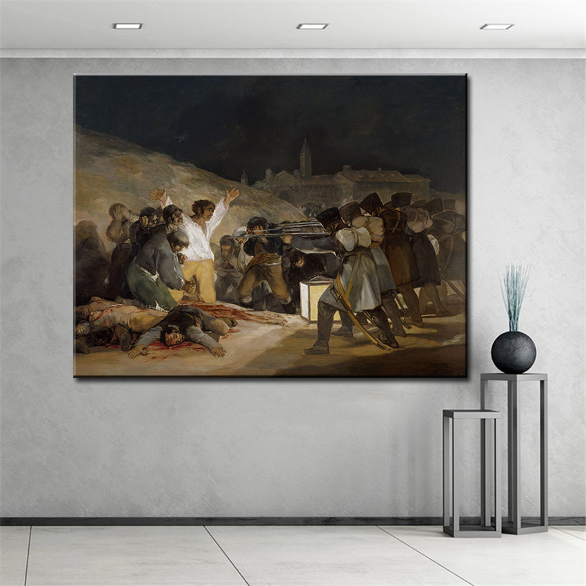 Francisco jose de goya y lucientes wall picture for living for Living room 12x16