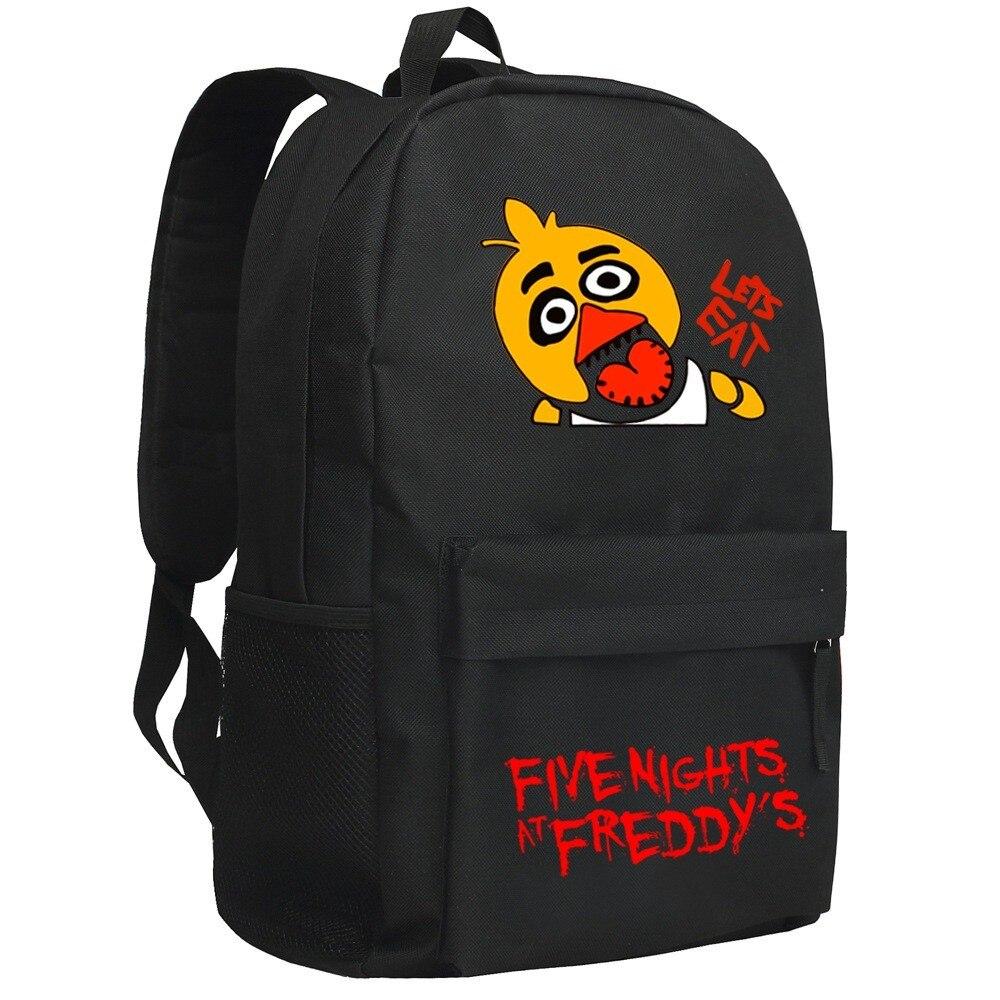Five Nights At Freddy's Backpack Children Schoolbag FNAF Schoolbackpack FIVE NIGHTS AT FREDDYS Game Bag