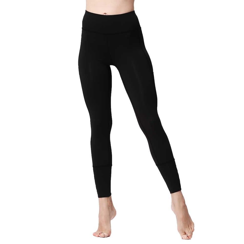 Стрейчевые штаны с высокой талией, пуш-ап, контроль живота, быстросохнущие сексуальные сетчатые Леггинсы для йоги, бега, спортзала, фитнеса, женские спортивные Леггинсы