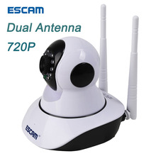 ESCAM G02 HD IP Camera WI-FI 720P Night Vision Security Camera P2P Onvif Camera WIFI Indoor Surveillance Camera for Phone NVR