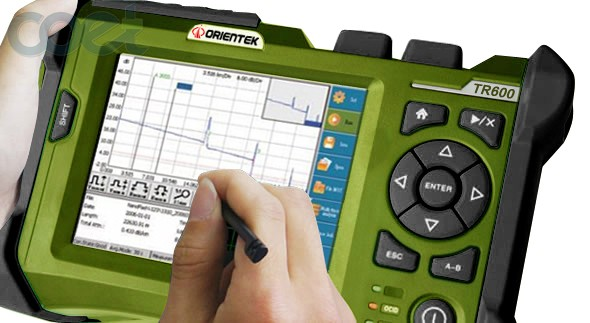 850/1300nm OTDR 21/19dB MM Multimode Optical Time Domain Reflectometer Fiber Optic OTDR with Touch Screen