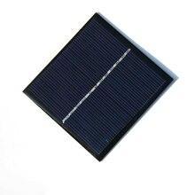 Alta qualidade 6 v 1 w epóxi painel solar diy carregador solar para 3.6 v bateria de célula solar módulo solar educação kits 85*82*3mm