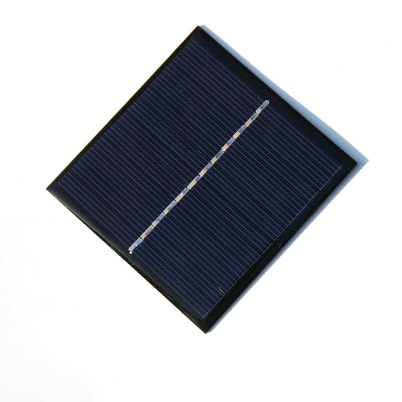 High Quality 6V 1W Solar Panel DIY Solar Charger For 3.6V Battery Epoxy Solar Cell Solar Module Education Kits 85*82*3MM