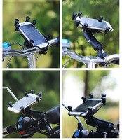 אופנועים אופניים כידון בר הר Stand מחזיק טלפון בעל מכשיר נייד הרכבה על מסילה עבור מסך 4-6 Inch טלפונים חכמים