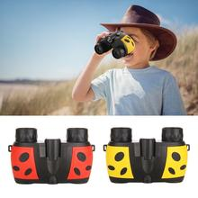 Children's Magnification Toy Binoculars Agnifying Glass Telescope Toy Nature Outdoor With Cute Cartoon Design Telescope цена и фото