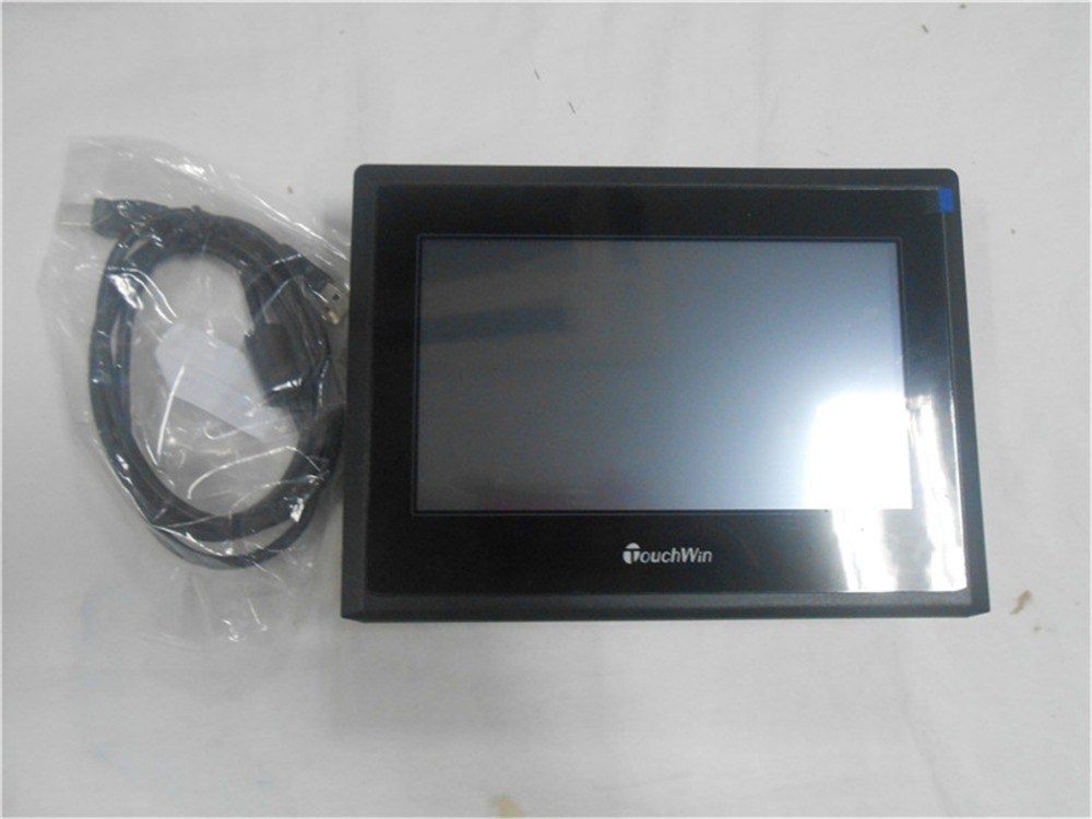 7 Inch HMI   TH765-NU New with USB program download Cable th765 nu 7 inch xinje th765 nu hmi touch screen new in box fast shipping