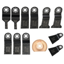 12 pcs/kit oscillating multi tool saw blades accessories for renovator power tool as Fein multimaster,Dremel