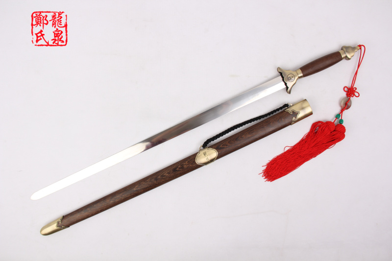 Traditional Tai Ji Rose Wood Jian 3