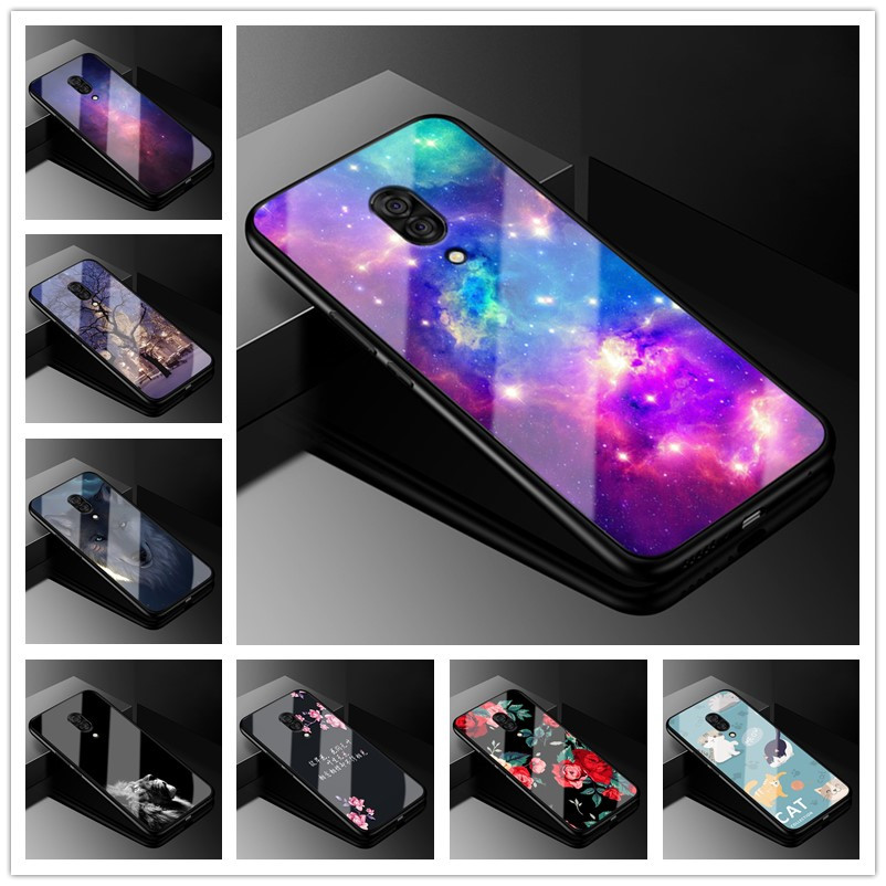 E 6.39 For Lenovo Z5 Pro Case Tempered Glass Hard Case For Lenovo Z5 Pro Case L78031 Z5Pro Cover Z 5 Pro Soft Silicon Frame Para